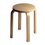 Aalto stool E60, birch