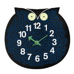 Zoo Timers wall clock, Omar the Owl