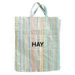 Hay Multi Check shopper, XL