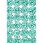 Hahtuva wallpaper, turquoise