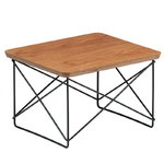 Eames LTR Occasional table, cherry - black