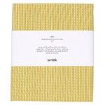 Artek Rivi canvas puuvillakangas, 150 x 300 cm, sinapinkelt. - valk.