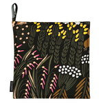 Pieni Letto pot holder, dark green - peach