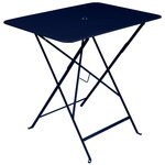 Fermob Bistro table 77 x 57 cm,  deep blue