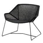 Breeze lounge chair, black