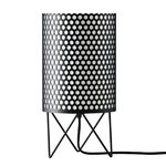 Pedrera ABC table lamp, black