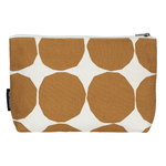 Relle Pienet Kivet cosmetic bag, cotton - beige