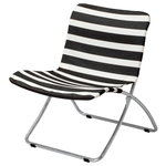 Lise sunchair, black stripes