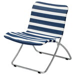 Lise sunchair, blue stripes
