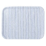 Rivi tray, 43 x 33 cm, white-blue
