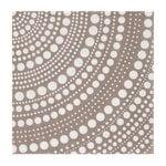 Kastehelmi paper napkin, linen