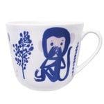 Kauniste Apina muki, sininen