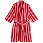 Nimikko bathrobe, red - pink