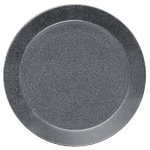 Teema plate 26 cm, dotted grey