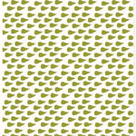 Pieni P��ryn�  fabric, green