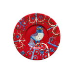 Iittala Taika plate 15 cm, red