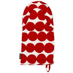 R�symatto oven mitten, red-white