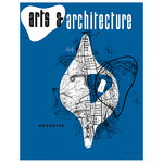 Cover Print poster, Arts & Architecture, November 1944