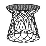 Re-Trouve stool / side table, black