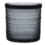 Iittala Kastehelmi jar 116 x 114 mm, grey