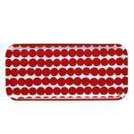 R�symatto tray, red-white