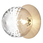 Liila 1 wall/ceiling lamp, large, gold - clear