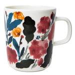 Oiva - Hyhmä mug 2,5 dl, white - blue - red