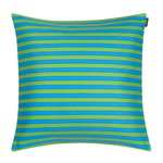 Tasaraita cushion cover, turquoise - green