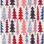 Kuusikossa kangas, v.harmaa-punainen-sininen