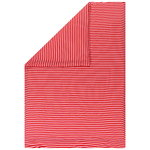 Tasaraita double duvet cover, red - pink