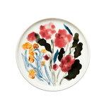Oiva - Hyhmä plate 13,5 cm, white - blue - red