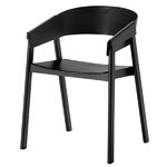 Muuto Cover armchair, black