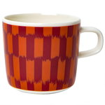 Oiva - Piekana coffee cup 2 dl, dark red - orange
