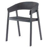 Cover chair, dark grey
