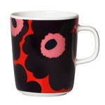 Oiva - Unikko mug 2,5 dl, red - purple - pink