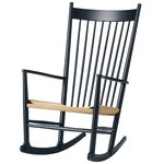 J16 rocking chair, black
