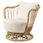 Gubi Grace lounge chair, Karakorum 001