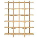 Hem Zig Zag high shelf, oak