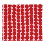R�symatto tea towel/napkin, red - pink