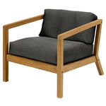 Virkelyst chair, teak - charcoal