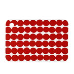 R�symatto cutting board, red-white
