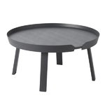 Muuto Around coffee table, large, anthracite