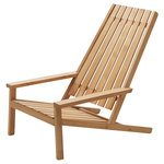 Between Lines deck chair, teak