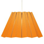 Model No. 1 pendant lamp, orange