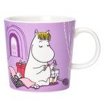 Moomin mug, Snorkmaiden lilac