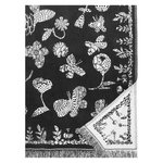 Aamos blanket 140 x 240 cm, white - black