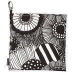 Pieni Siirtolapuutarha pot holder, black - white