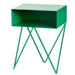 Robot side table, green
