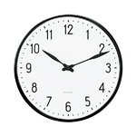 Arne Jacobsen AJ Station wall clock, 21 cm