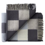 Plain Beat throw, dark grey notes